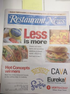 Verts in Nation's Restaurants News 1