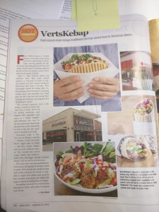 Verts in Nation's Restaurants News 2